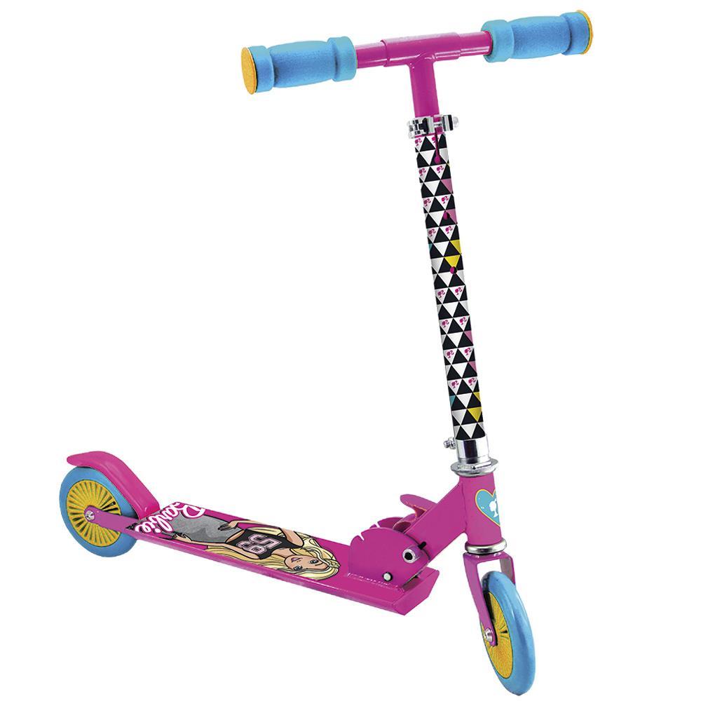 Patinete de Alumínio Barbie Fashion - Astro Toys - Patinete