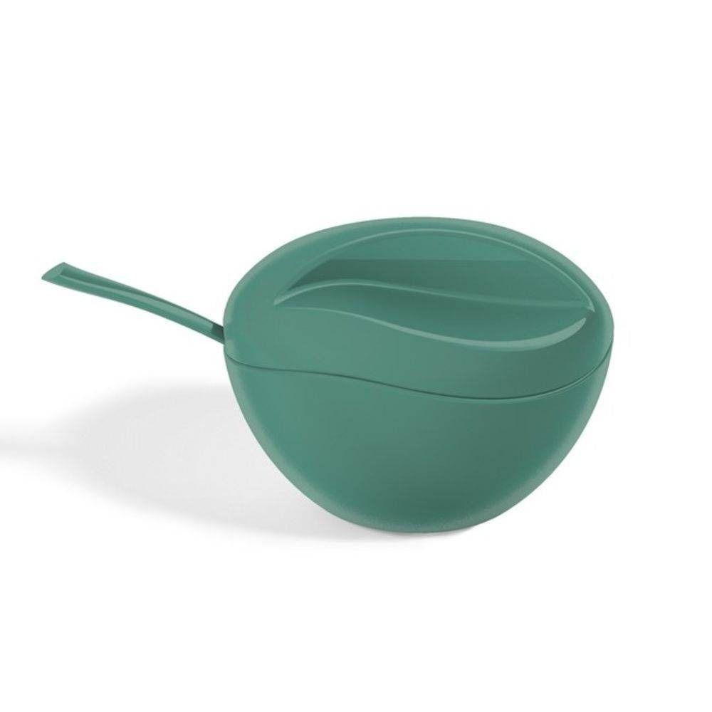 Açucareiro Plástico C/Colher Tiffany