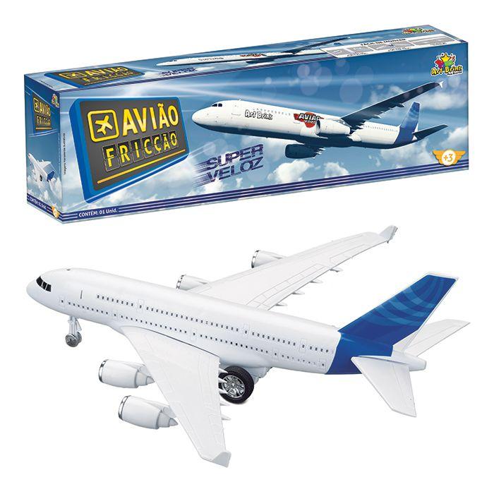 Avião A Fricção - Art Brink