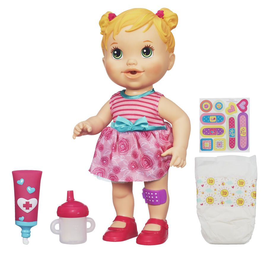 Boneca Baby Alive Machucadinho