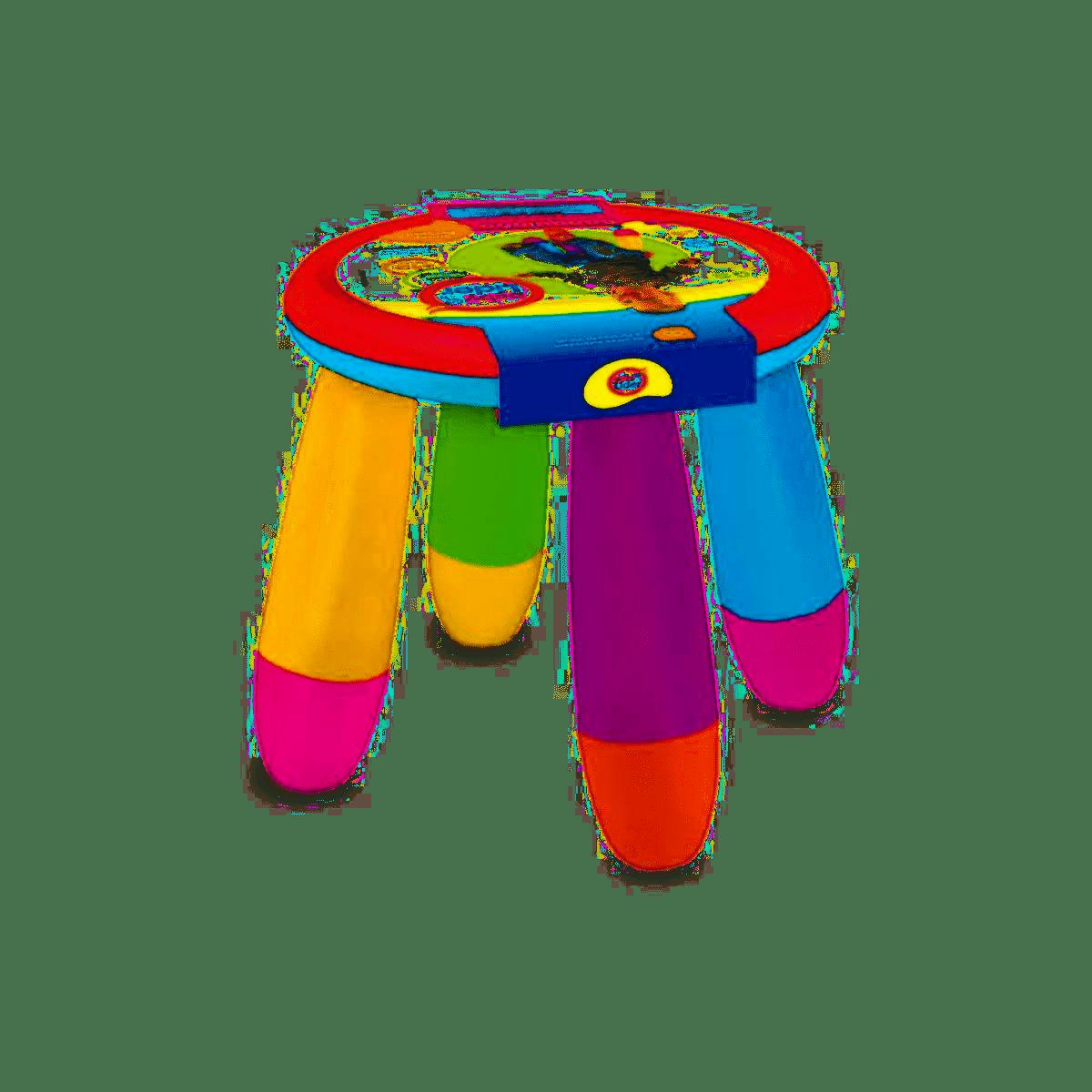 Banquinho Portátil Infantil Colorido Plástico Brinquedo