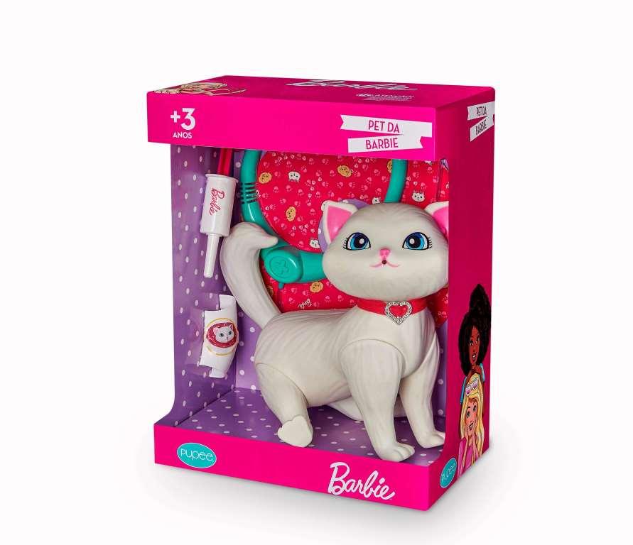 Barbie Pet Veterinária Gatinha Blissa C/Acessórios - Pupee