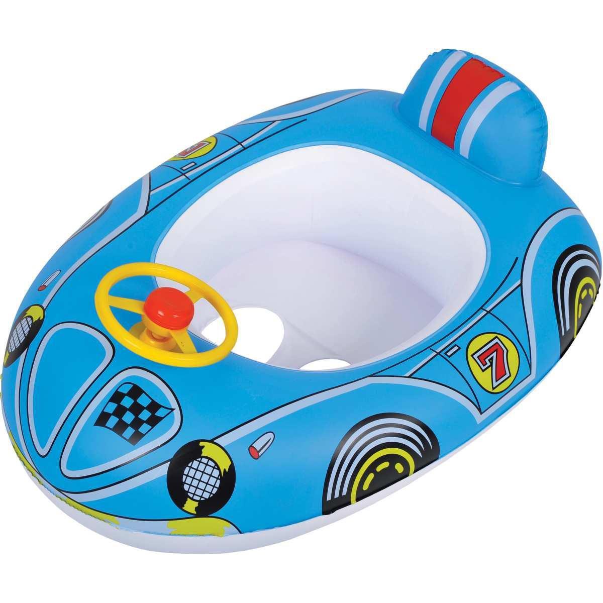 Boia inflável Race Car Com Buzina