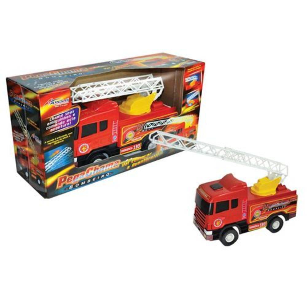 Caminhão Bombeiro Pega Chama - Apolo Brinquedos
