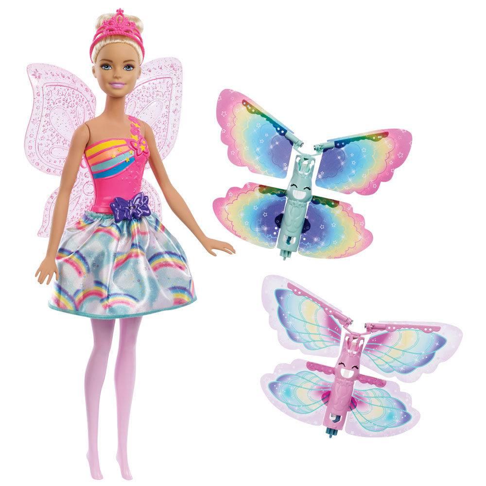 Boneca  Barbie Fada Asas Voadoras