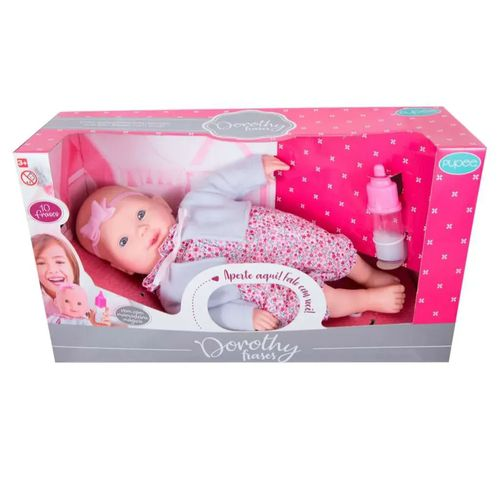 Boneca de Bebe Dorothy Fala 10 Frases - Pupee