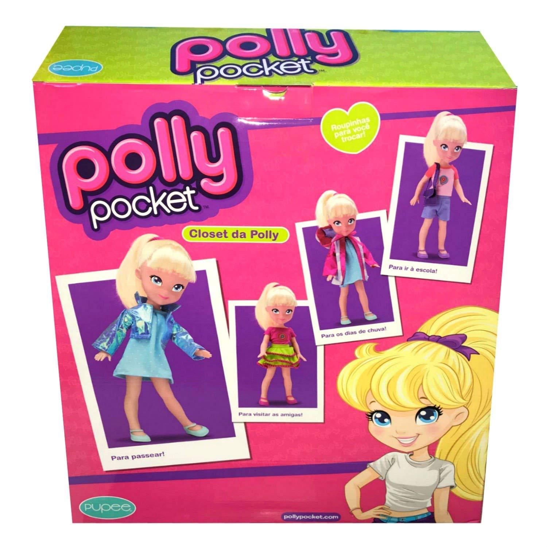 Boneca Polly Closet Da Polly Fashion
