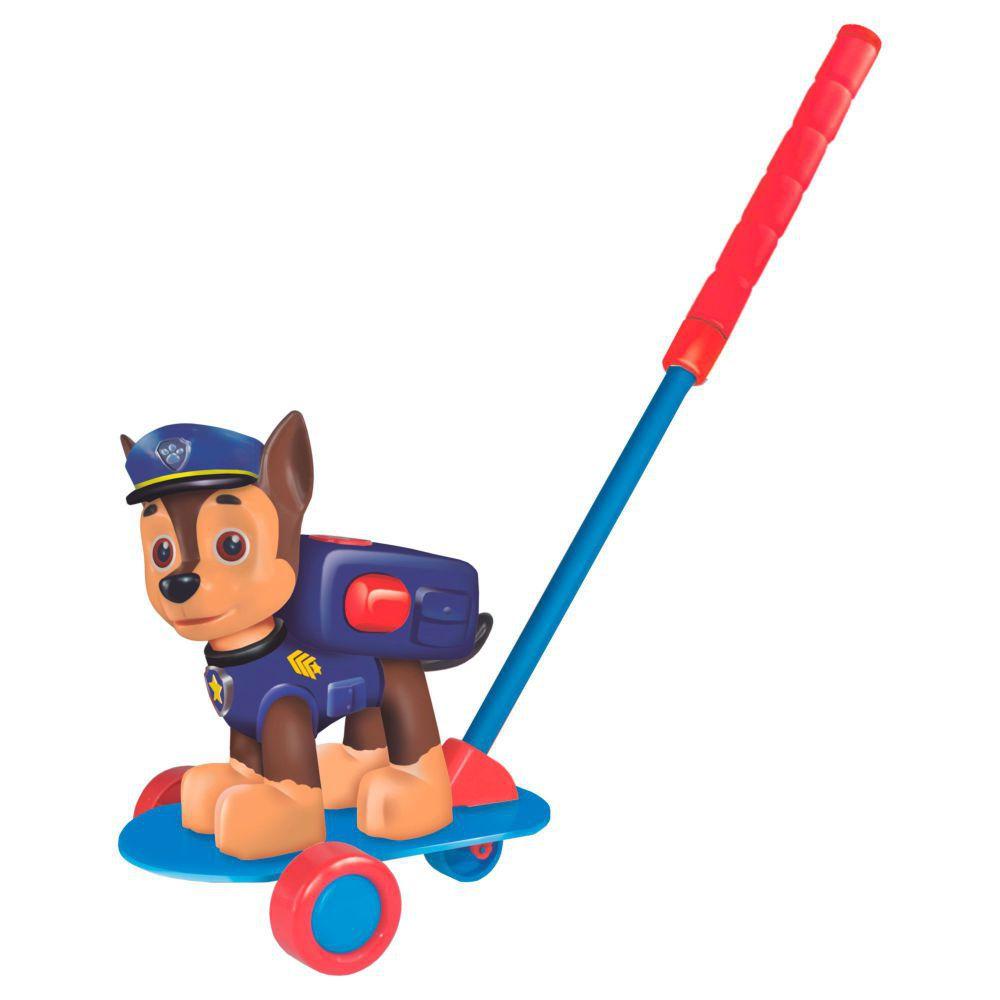 Boneco Patrulha Canina De Empurrar Chase - Lider