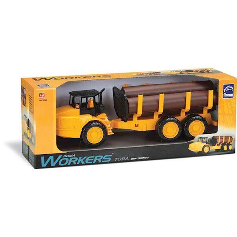 Caminhões Workers Caminhão Com Tora - Roma