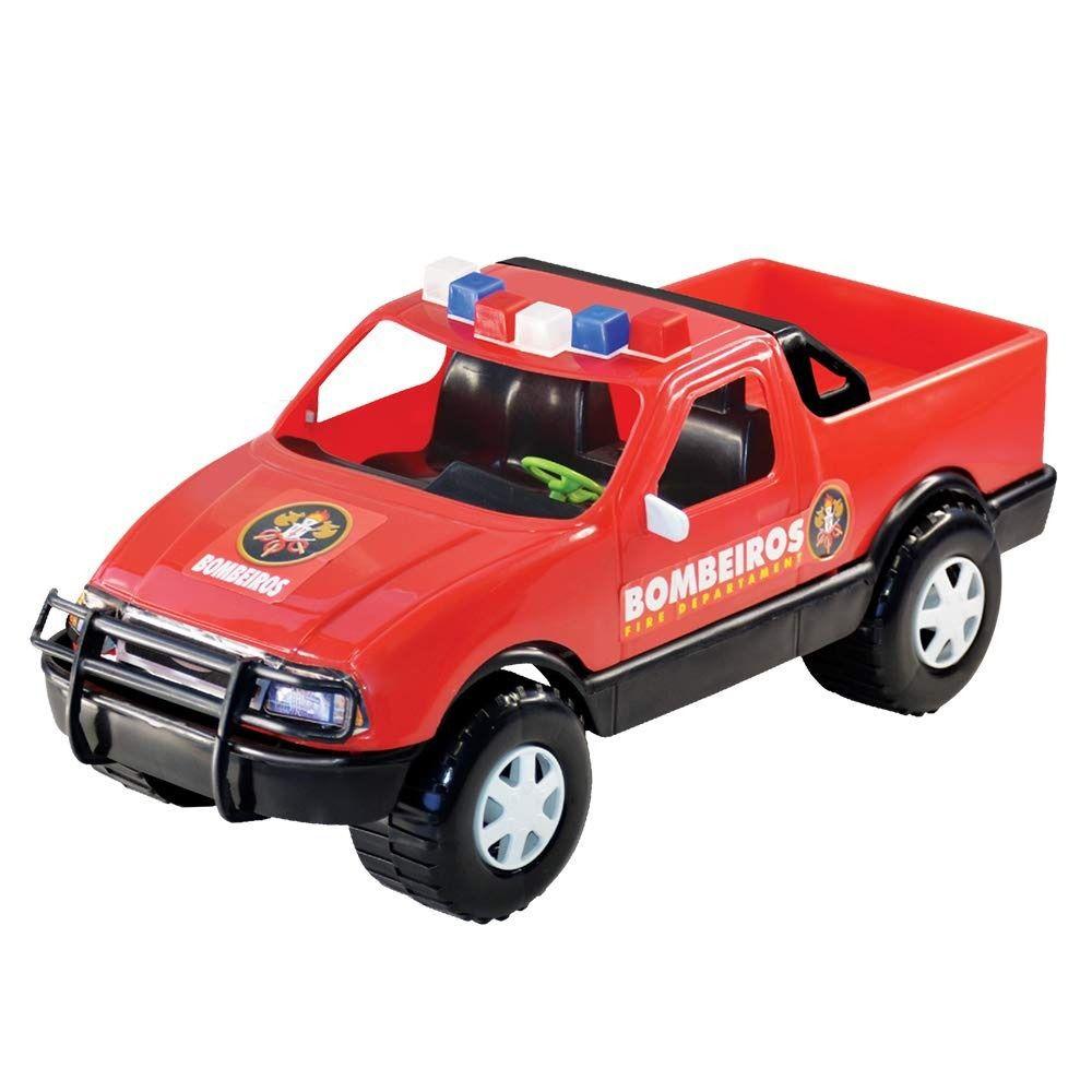 Carrinho Pick-up Bombeiro