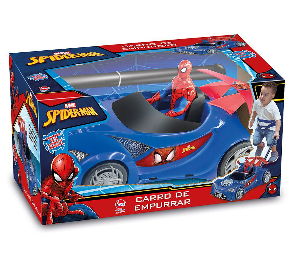 Carro de Empurrar SpiderMan