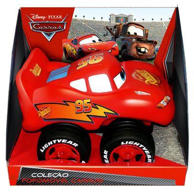 Carro Fofomóvel - Disney Cars - Relâmpago McQueen