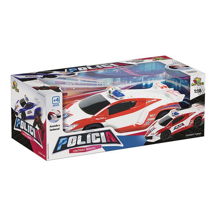 Carro Policia Controle Van Speed