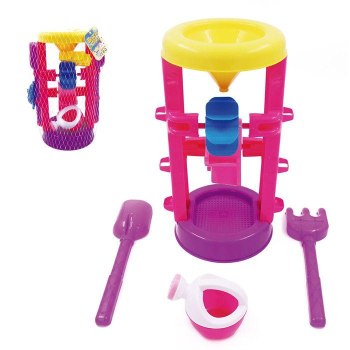 Cascata Beach Toys Com 06 Acessórios