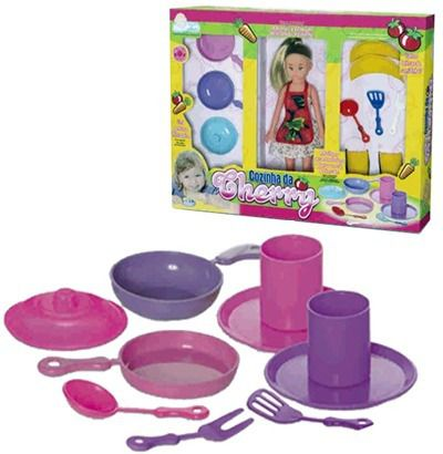 Kit Cozinha Da Cherry - Brinquedos Anjo