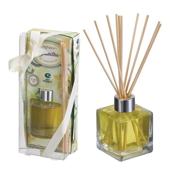 Difusor De Ambientes Aroma Baunilha 100 ml