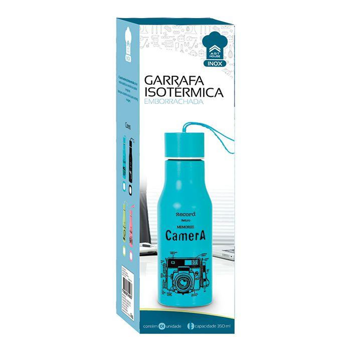 Garrafa Térmica Emborrachada 350ml