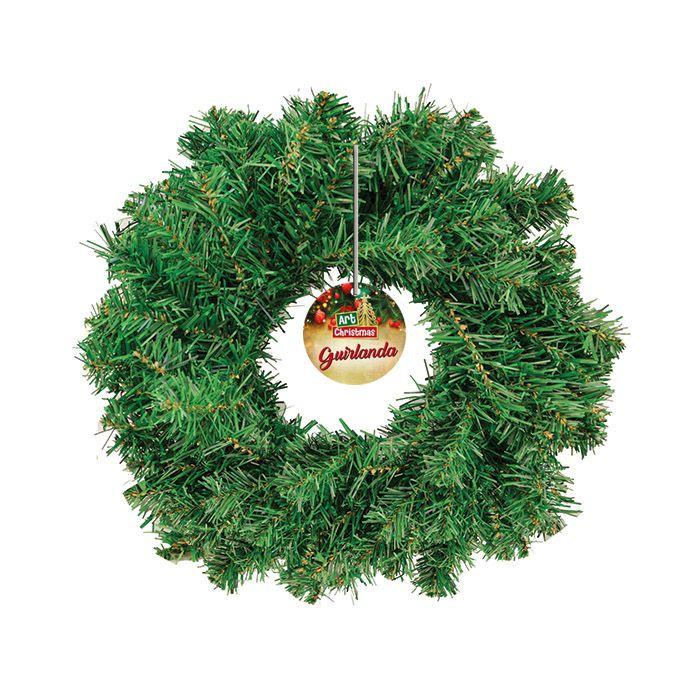 Guirlanda Art Christmas 30cm Com 100 Galhos