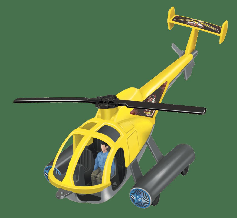 Helicóptero Com Boneco Piloto