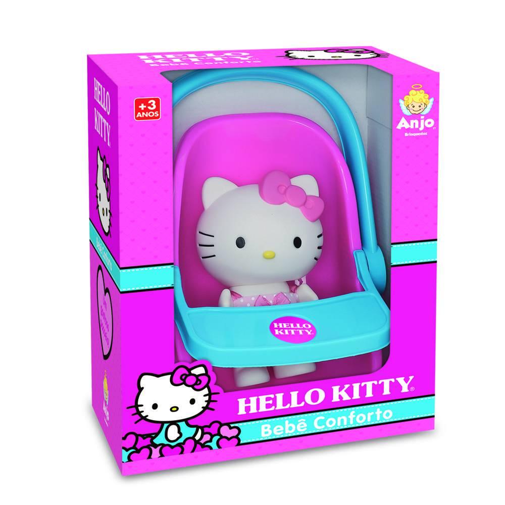 Boneca Hello Kitty Com Bebê Conforto