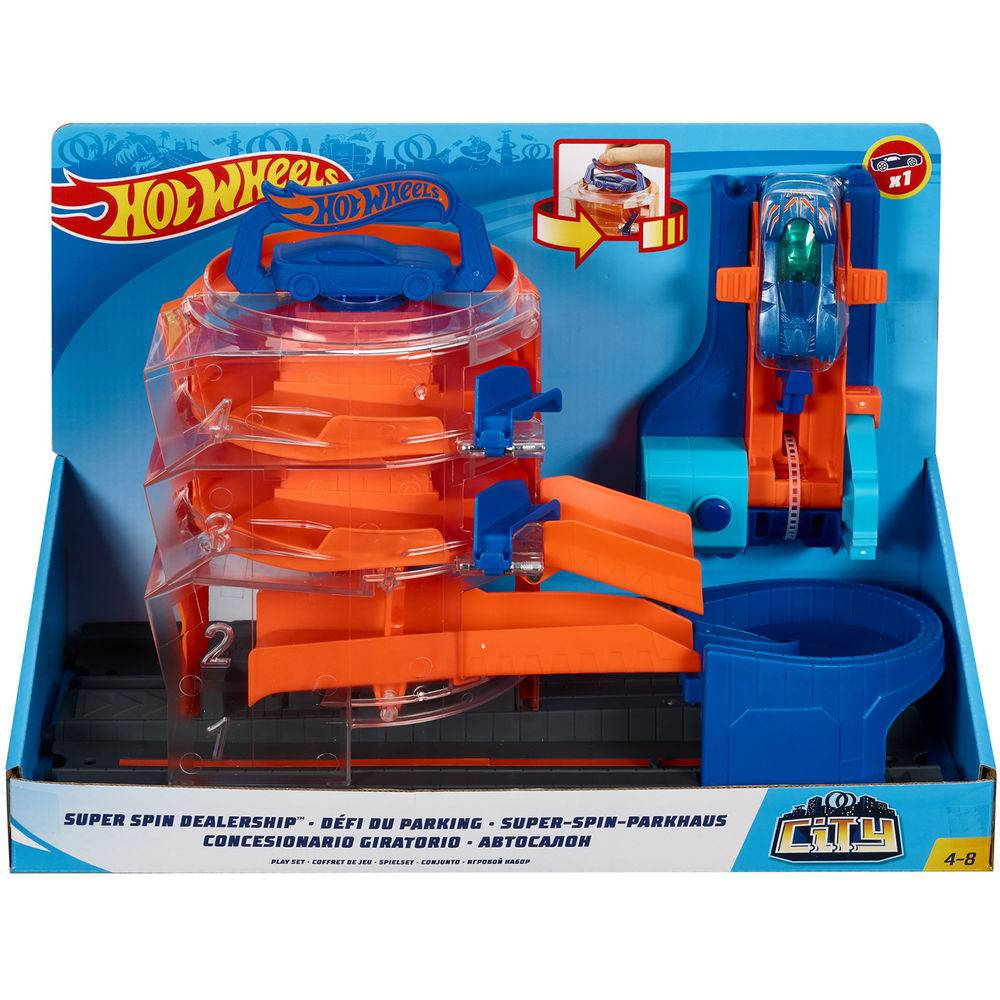 Hot Wheels Pista Borracharia Super Giro City