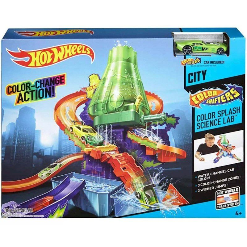 Hot Wheels Pista Estacão Cientifica Color Shifters - Mattel