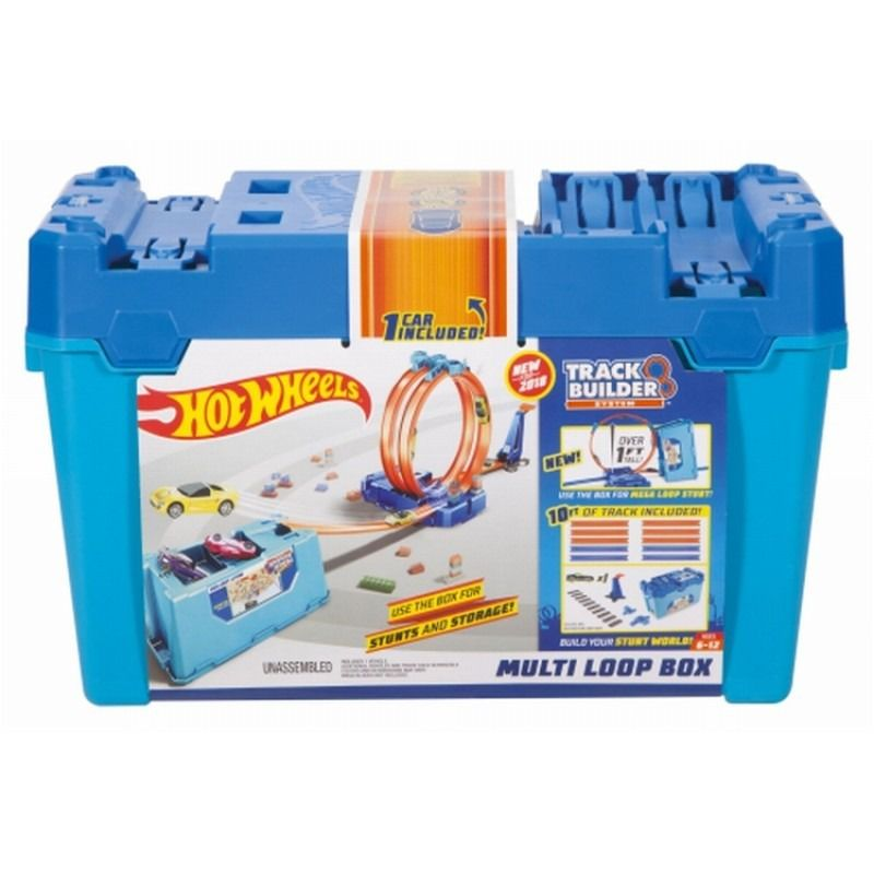 Hot Wheels Track Builder Kit De Looping - Mattel