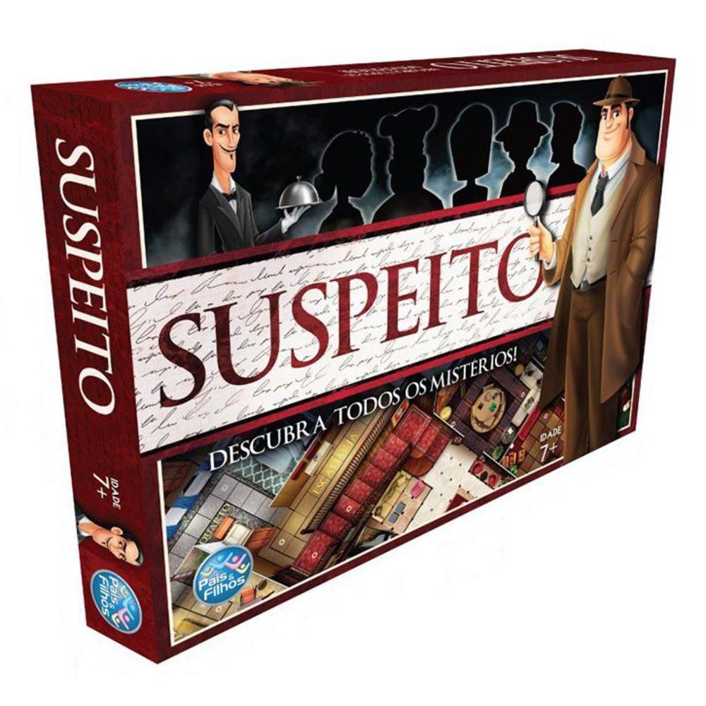 Jogo Suspeito - Estratégia - Pais e Filhos