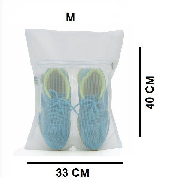 Saco Para Lavar Kit C/3 Tamanho P/M/G