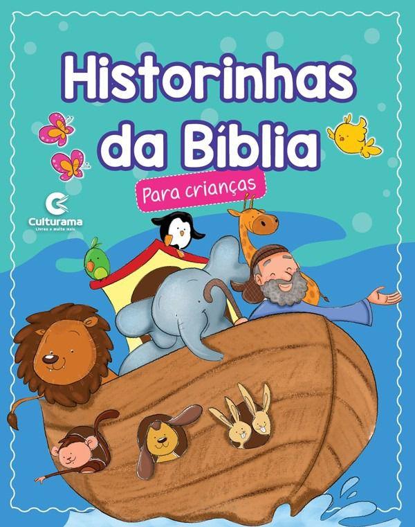 Livro Historia Da Bíblia Para Meninos Azul