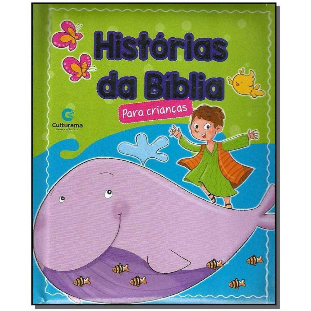 Livro Historias Da Bíblia Para Crianças