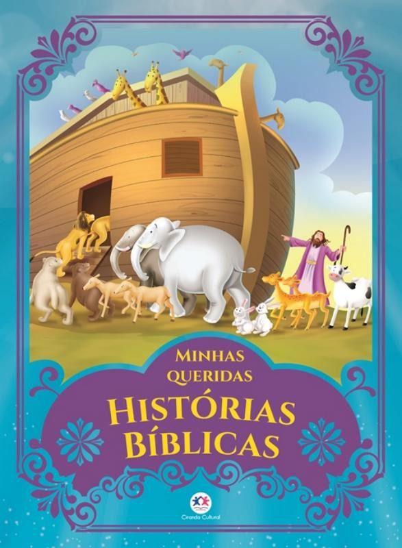 Livro Infantil Ilustrado Minhas Queridas Histórias Bíblicas