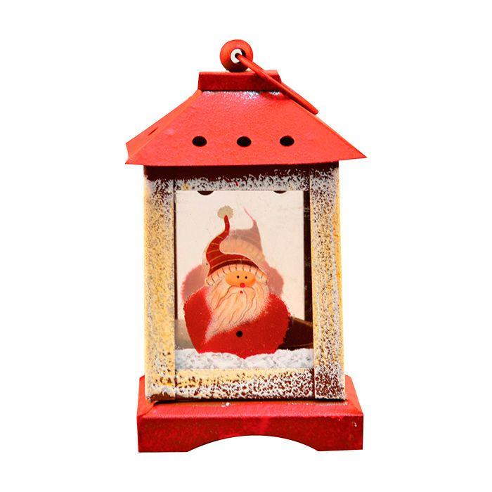 Luminária Para Vela Art Christmas 18x18cm