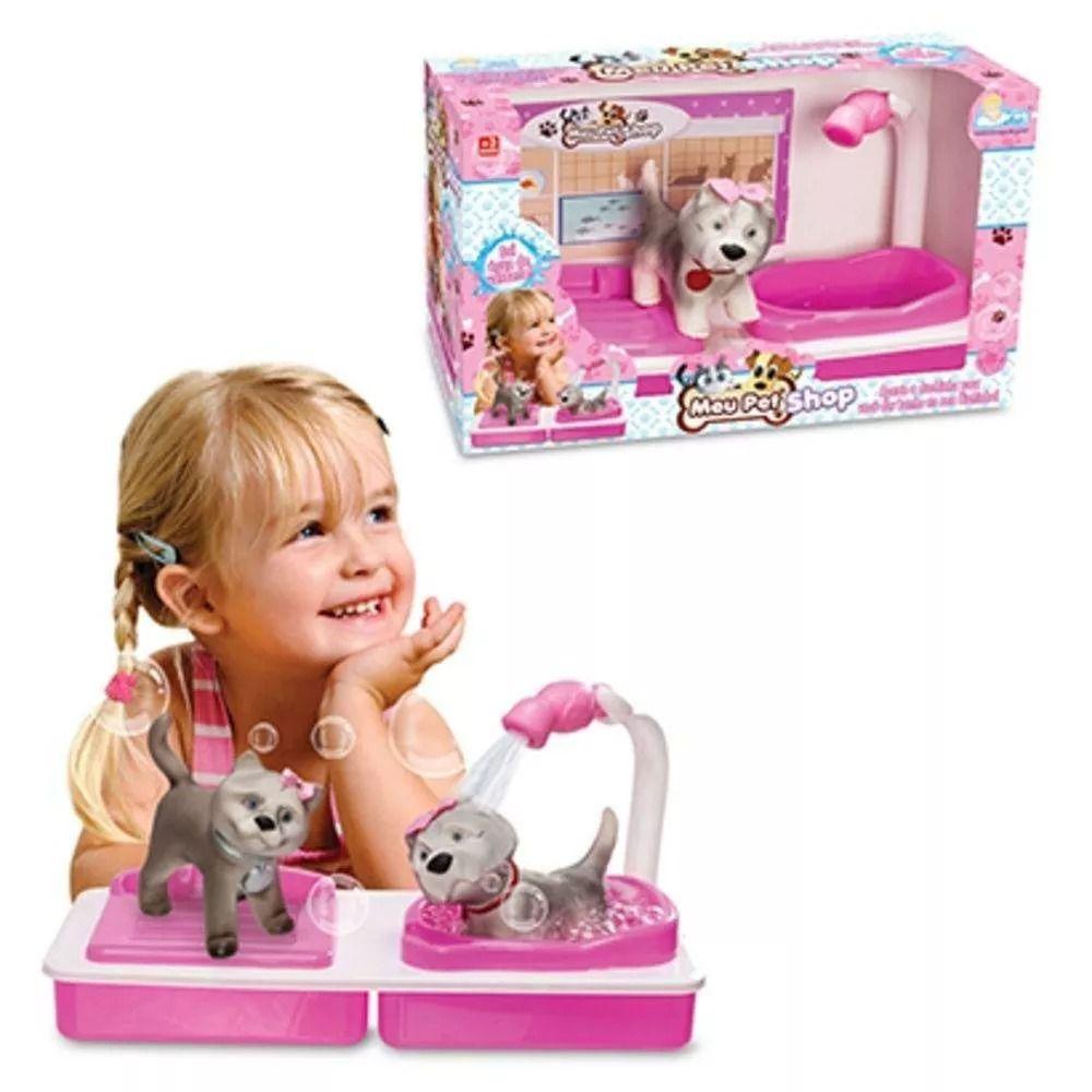 Meu Pet Shop Gato Com Lavatório