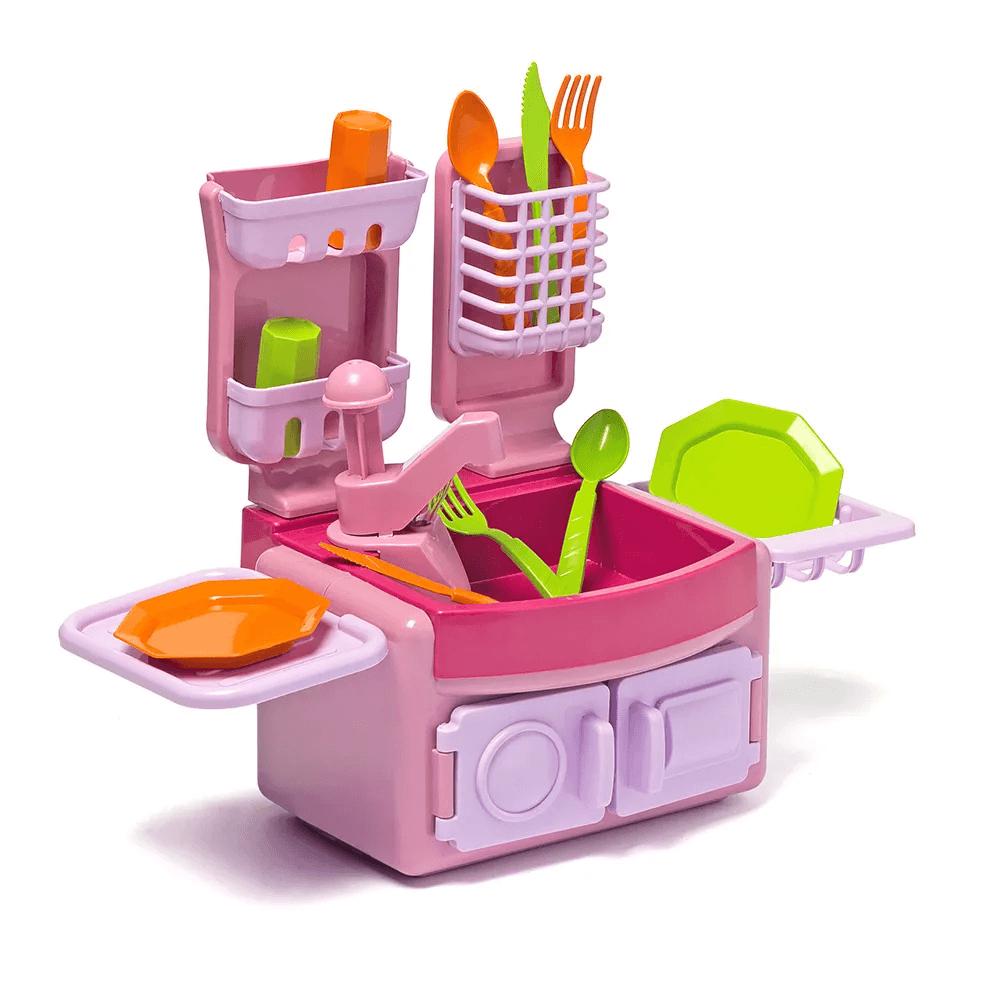 Mini Cozinha com Acessórios - Cotiplás 1602