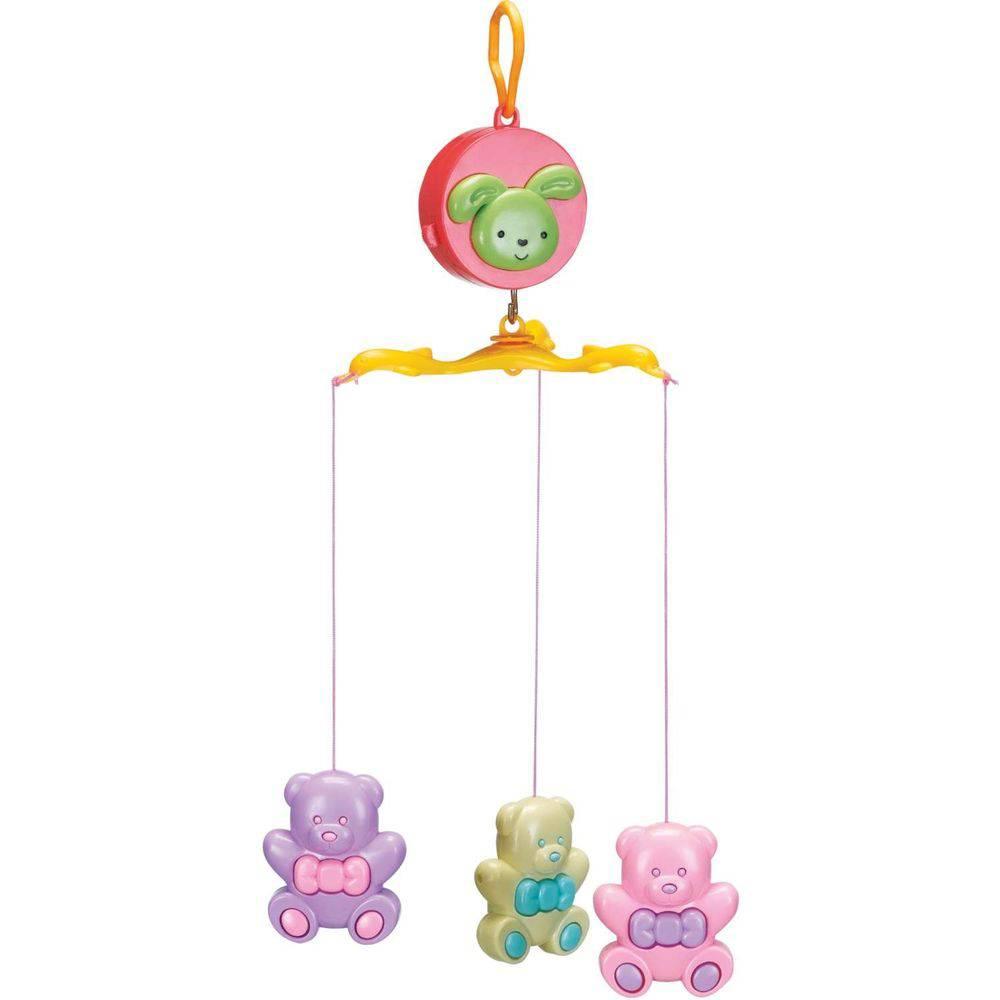 Baby Móbile Musical Para Berço Ursinhos - Art Baby