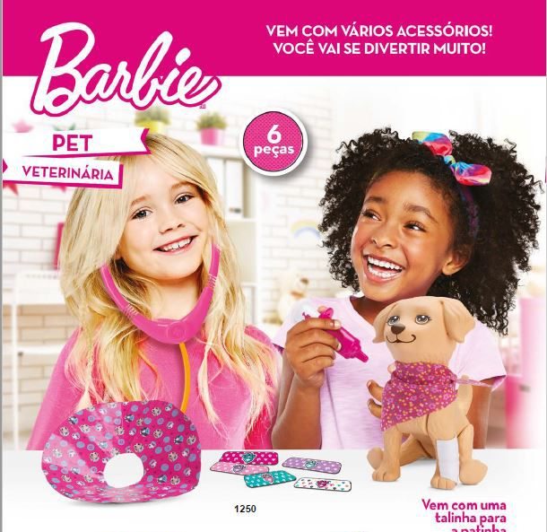 Pet Barbie Veterinária