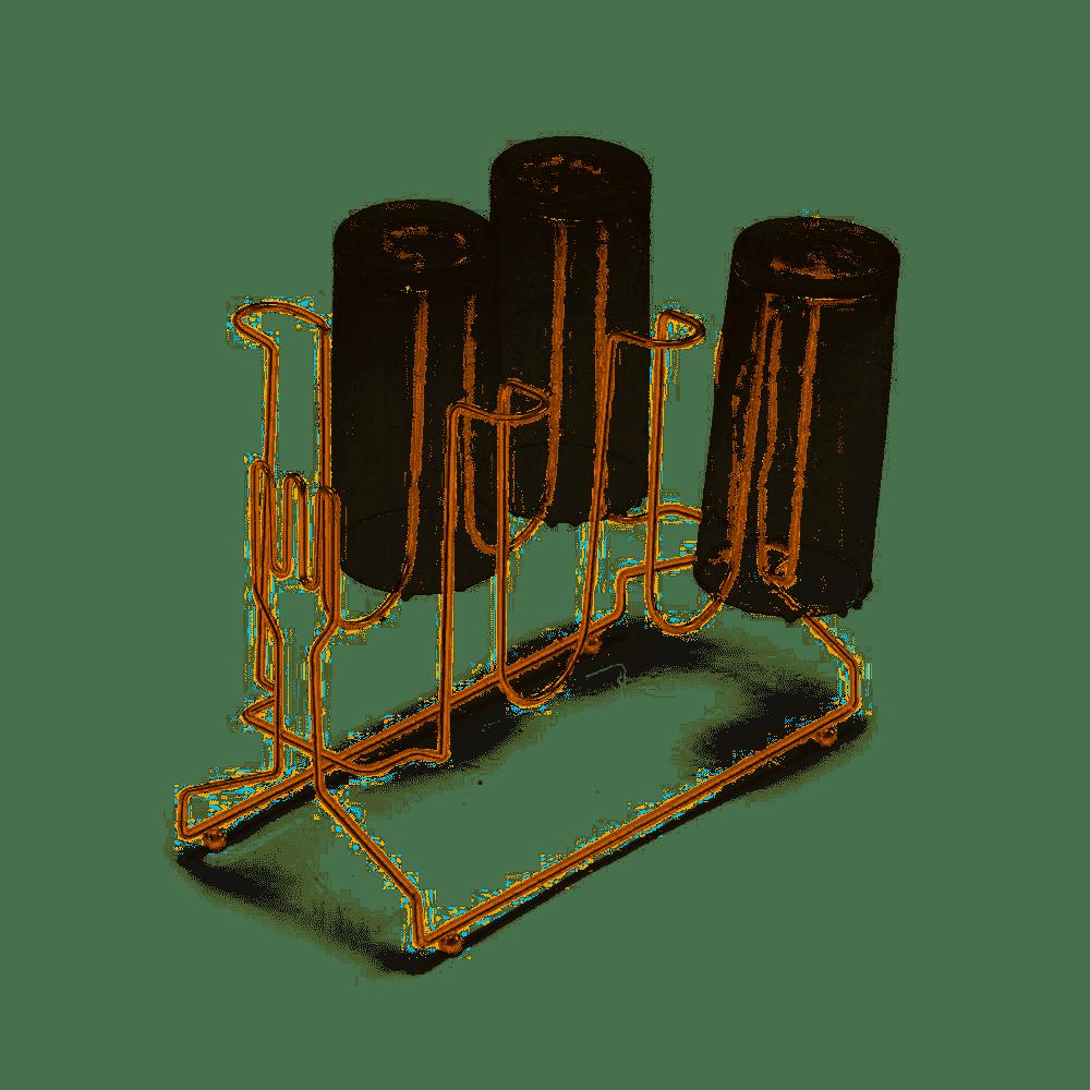 Porta Copos Para 6 Unidades Querida Rose Gold - Arthi