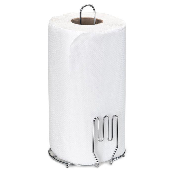 Porta Rolo de Papel Toalha Aço Cromado - Linha Querida Arthi