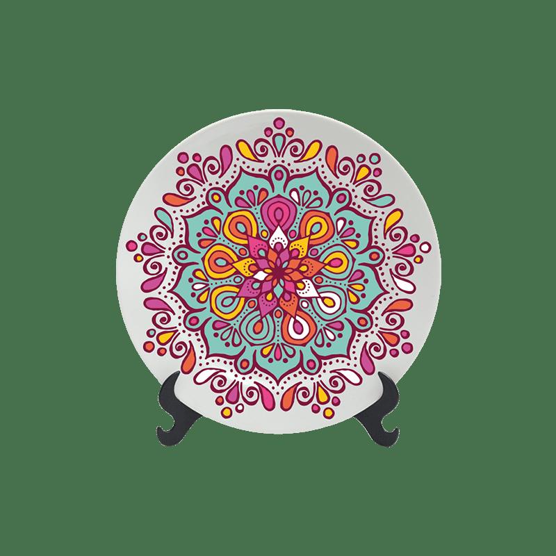 Prato Decorativo 11cm - Boho