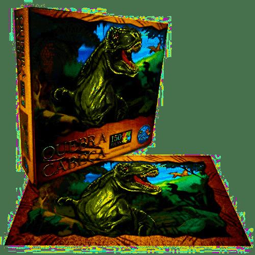 Quebra Cabeça 150 Peças Pais & Filhos - T Rex