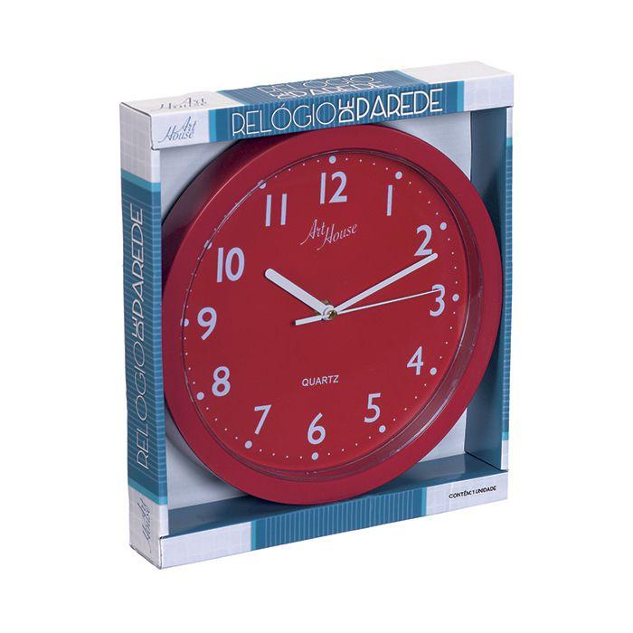 Relógio De Parede Pop Color 25cm - Art House