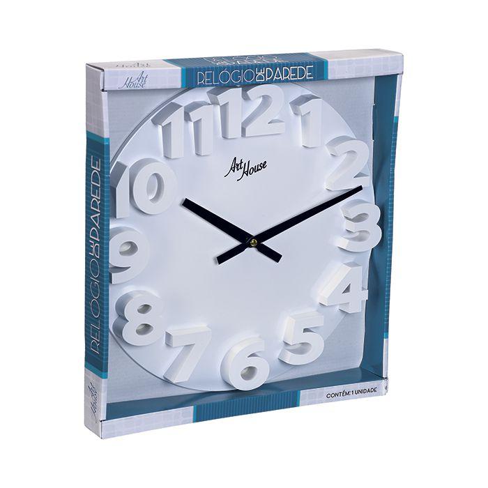 Relógio De Parede Round Color 34cm - Art House