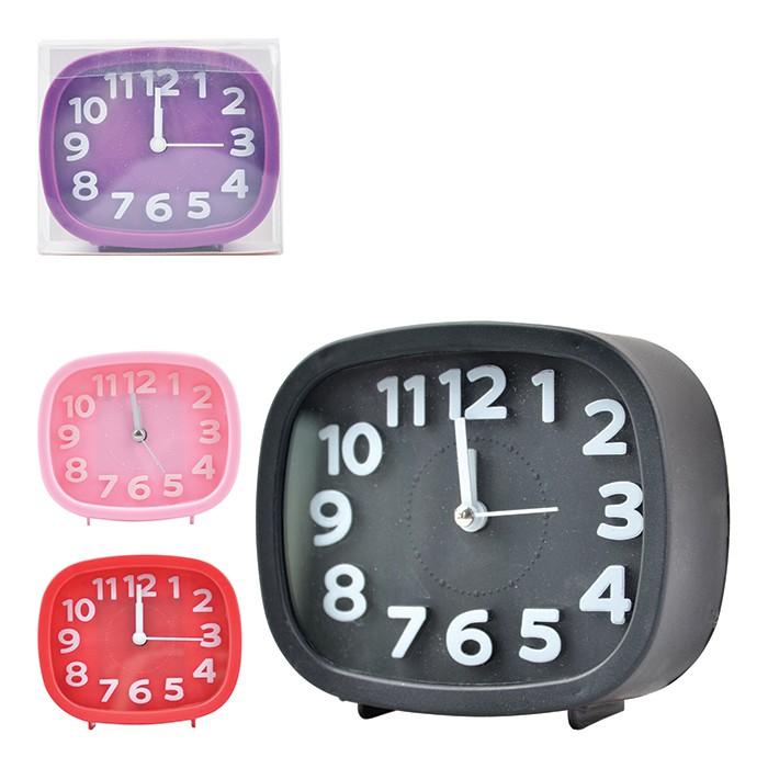 Relógio Despertador De Mesa - Art House