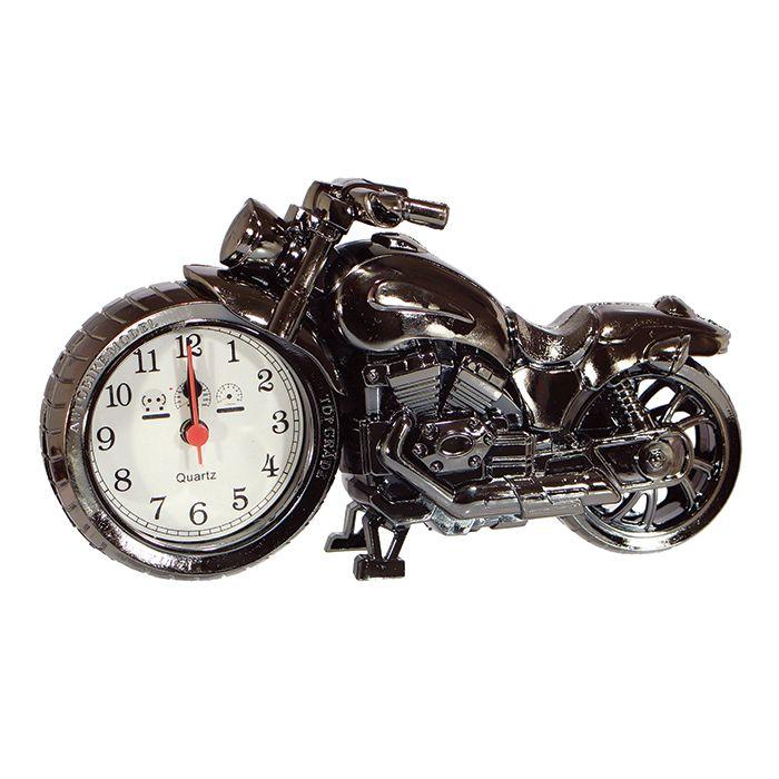 Relógio De Mesa Decoração Modelo Moto - Art House
