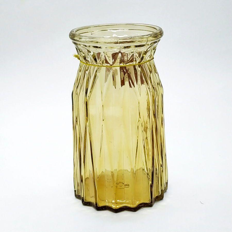 Vaso Decorativo De Vidro 18 cm Tripoli