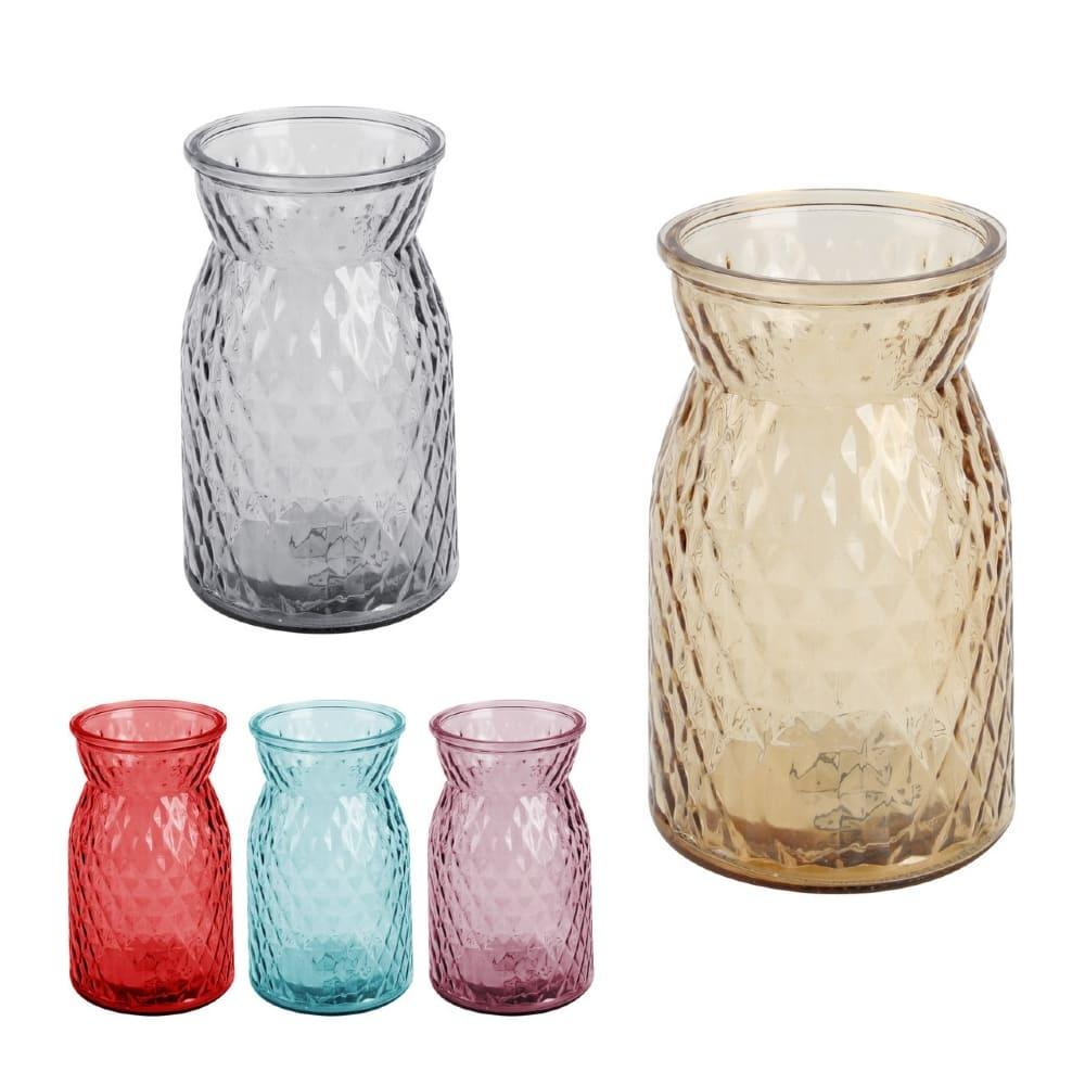Vaso Decorativo De Vidro 18 cm Tunes