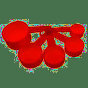 Xicaras Medidoras Com 5 Medida