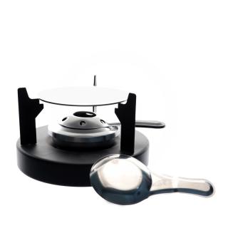 Aparelho de fondue para queijo com 8 peças em cerâmica - Full Fit