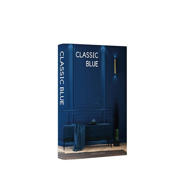 Book Box Classic Blue 30x24x4cm